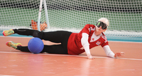 Pajulahti Games 2017: Live streamed goalball matches can be watched afterwards.
