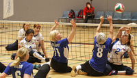 Sitting volleyball World Champions Russia to start their year in Pajulahti.