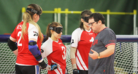 Russian goalball team recovering from the Paralympic shock.